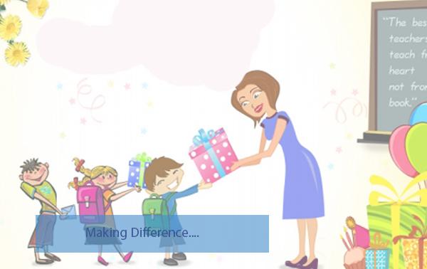 Teacher's Day | Potluck Program