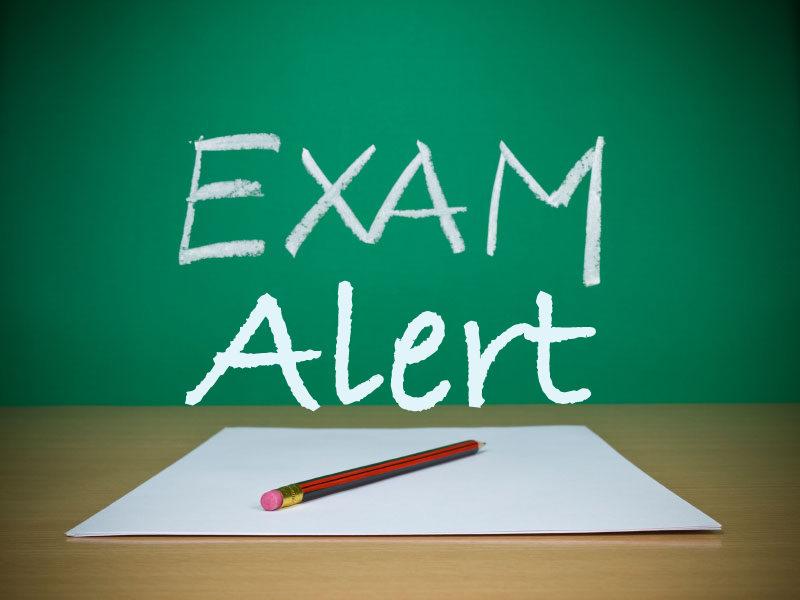 First Semester Exam Starts