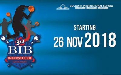 3rd BIB tournament 2018
