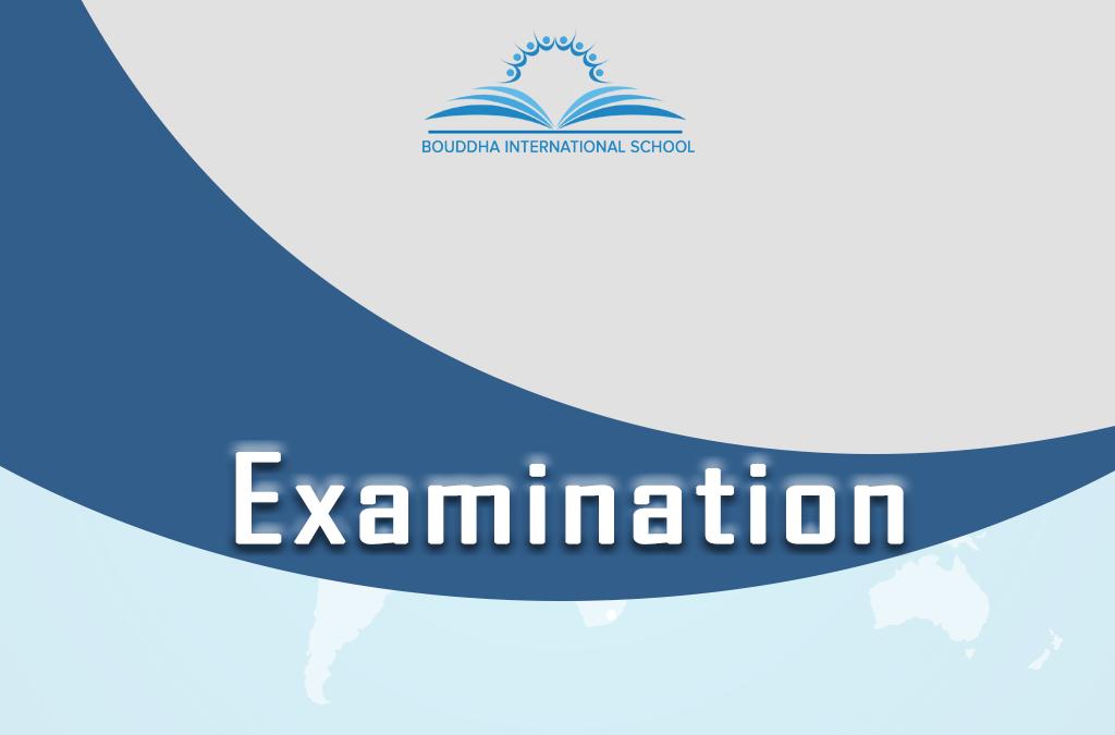 Events – Exam & Elocution